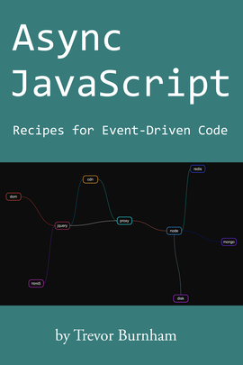 Async JavaScript, by Trevor Burnham - Cover