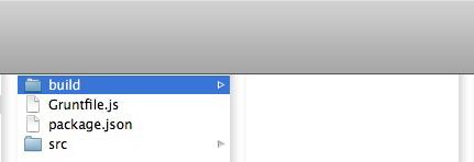 The Empty Build Folder