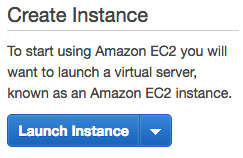 Launch Instance button