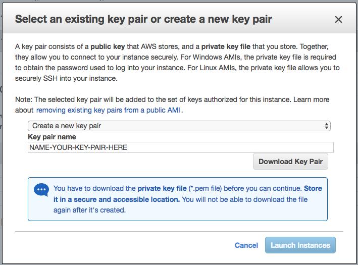Download Key Pair