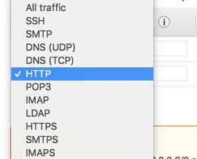 Choose HTTP